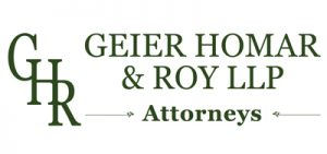 Geier Homar and Roy LLP Attorneys