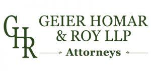 Geier Homar and Roy LLP Attorneys